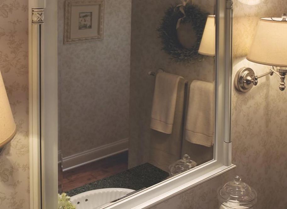 Framed Bathroom Mirrors Mirror Cabinets Kraftmaid