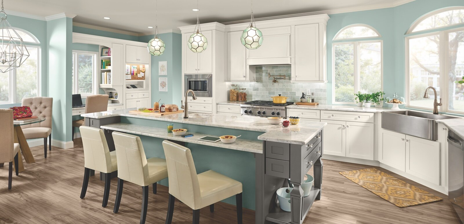 KraftMaid: Beautiful cabinets for kitchen & bathroom designs.