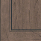 Baltic stain on Cherry wood cabinets.