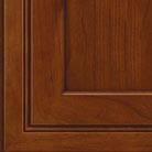 Autumn Blush stain on Cherry wood cabinets.