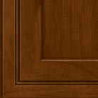 Chocolate stain on Cherry wood cabinets.