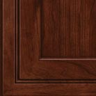Kaffe stain on Cherry wood cabinets.