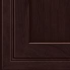 Peppercorn stain on Cherry wood cabinets.