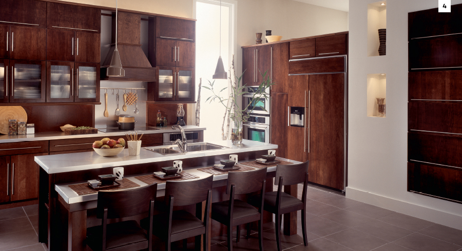 Top 5 Most Popular Kitchen Cabinet Stain Colors From Kraftmaid