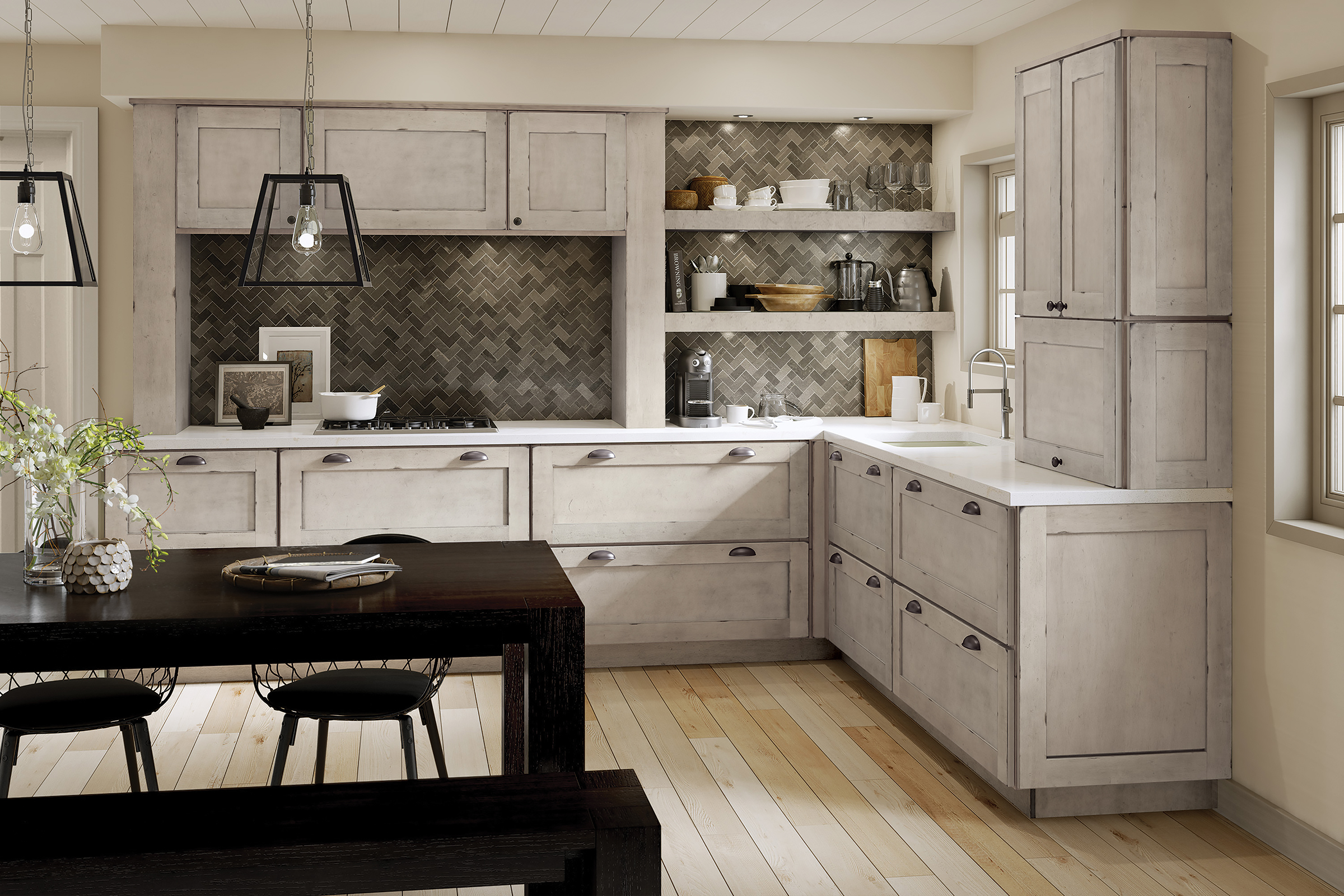 How To Pick The Perfect Kitchen Backsplash Tile Kraftmaid
