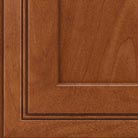 Chestnut stain on Maple wood cabinets.