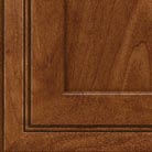 Cognac stain on Maple wood cabinets.