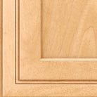 Honey Spice stain on Maple wood cabinets.