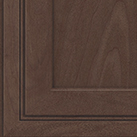 Molasses stain on Maple wood cabinets.