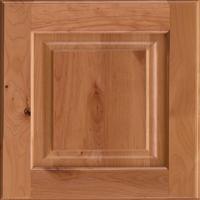 Alder wood for kitchen cabinets.