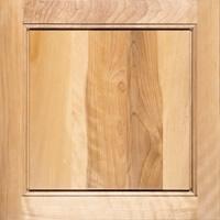 Birch wood for kitchen cabinets.