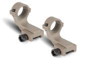 Offset Reversible 1 inch Diameter Rifle Scope Rings