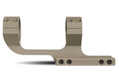 Slim Profile Series Offset Picatinny Scope Mount - 1in