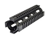 LR-308 Quad Rail Handguard - Carbine | Drop In | Black