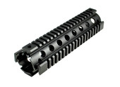 AR-15 Quad Rail Handguard - Mid Length | Drop-In