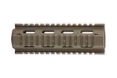 AR-15 Quad Rail Handguard - Carbine Length | Drop-In - Black