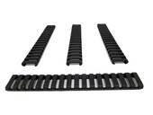 Picatinny Ladder Rail Covers - 7 inch   4 Pack