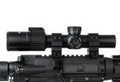Alpha 1-6x24 FFP Rifle Scope