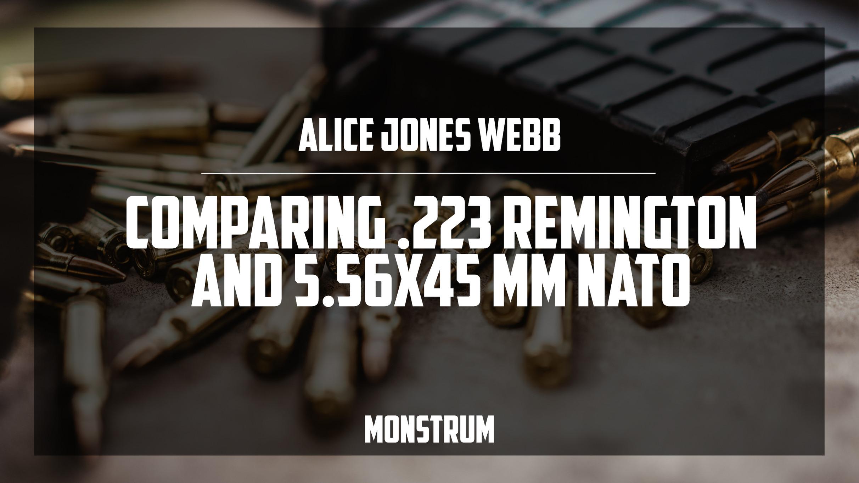 Comparing .223 Remington and 5.56x45MM NATO