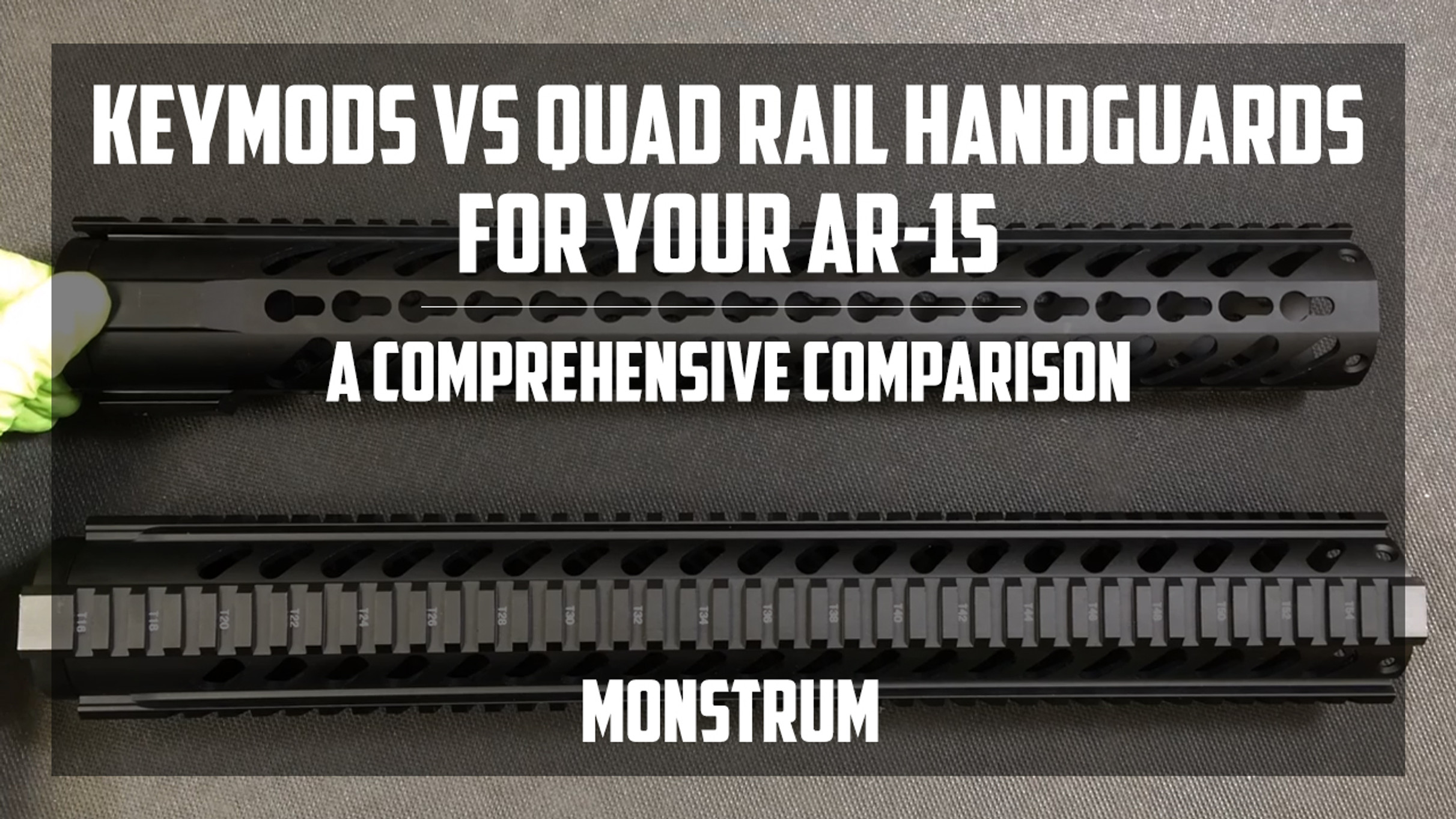Keymod vs. the Traditional AR-15 Quad Rail