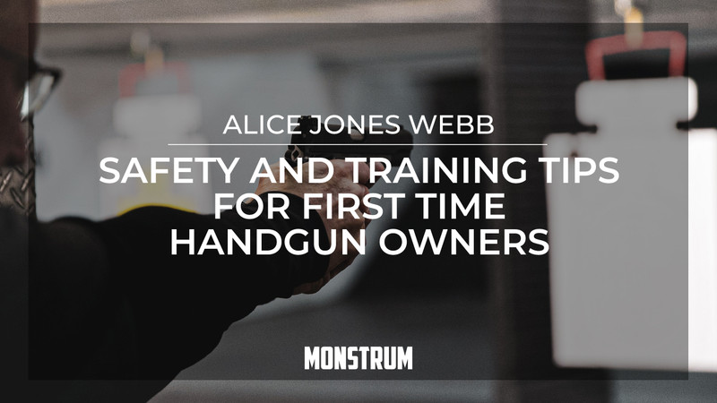 Safety and Training Tips for First Time Handgun Owners