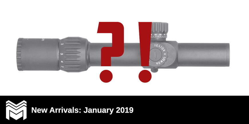New Arrivals: January 2019