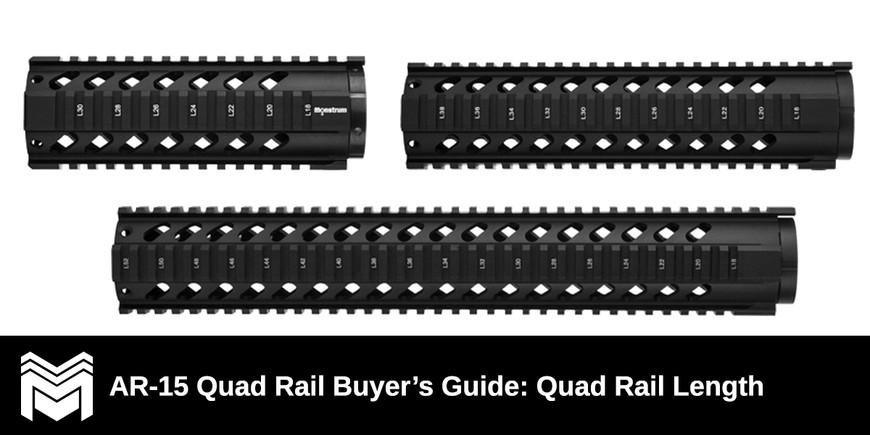 AR-15 Quad Rail Buyer's Guide: Quad Rail Length
