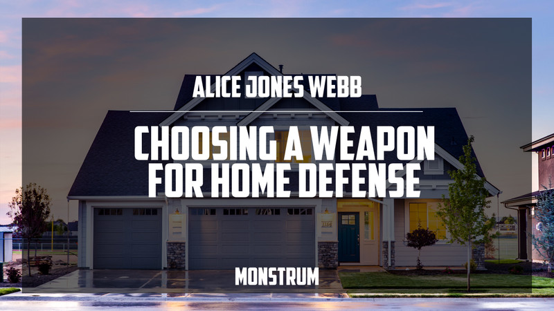 Choosing a Weapon for Home Defense - Handgun, Shotgun, or Rifle?