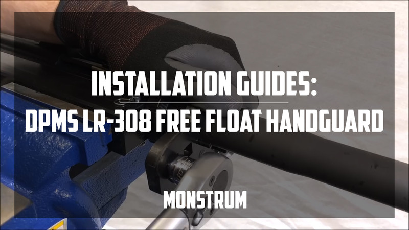 DPMS LR-308 Free Float Handguard Complete Install Guide