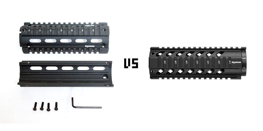 AR-15 Quad Rail Buyer's Guide: Drop-In or Free Float?