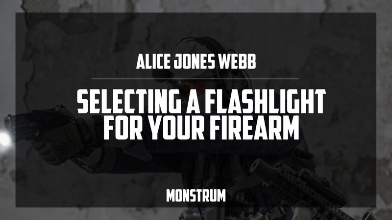 Selecting a Flashlight for Your Firearm
