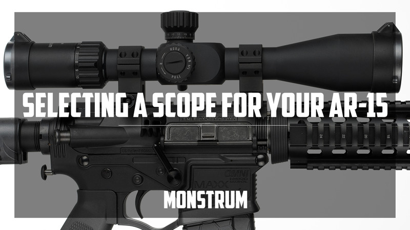 Choosing a Rifle Scope for your AR-15