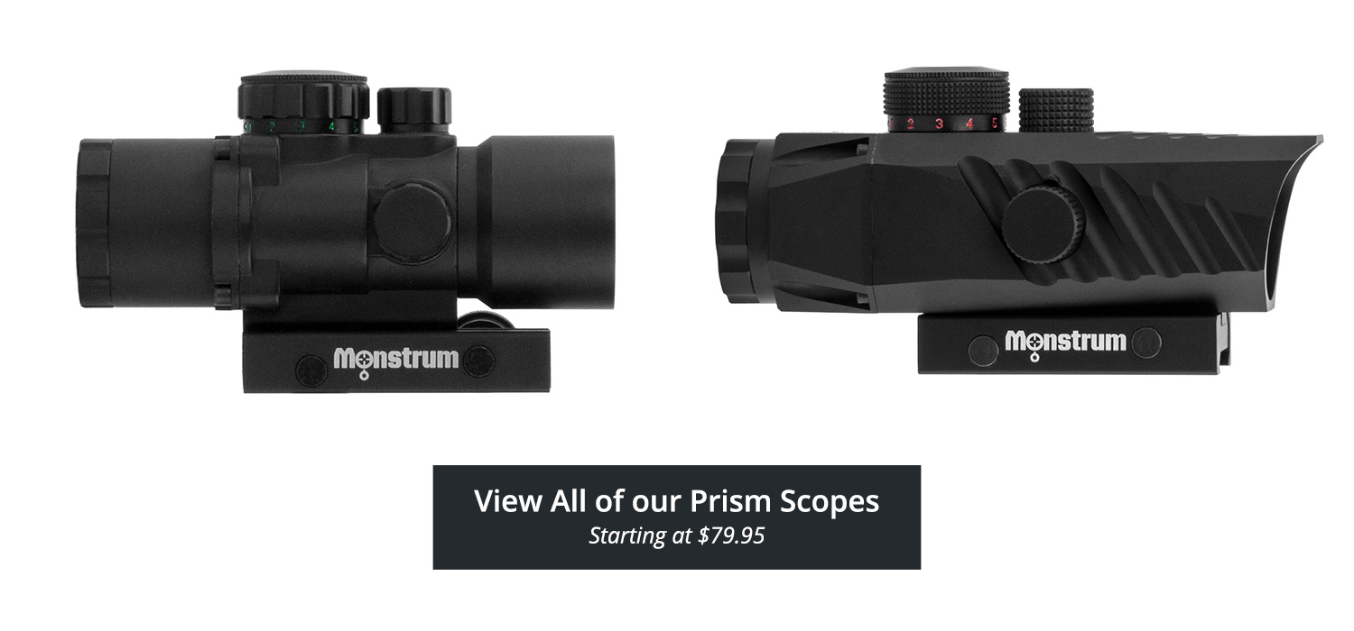 Monstrum Tactical Prism Scopes