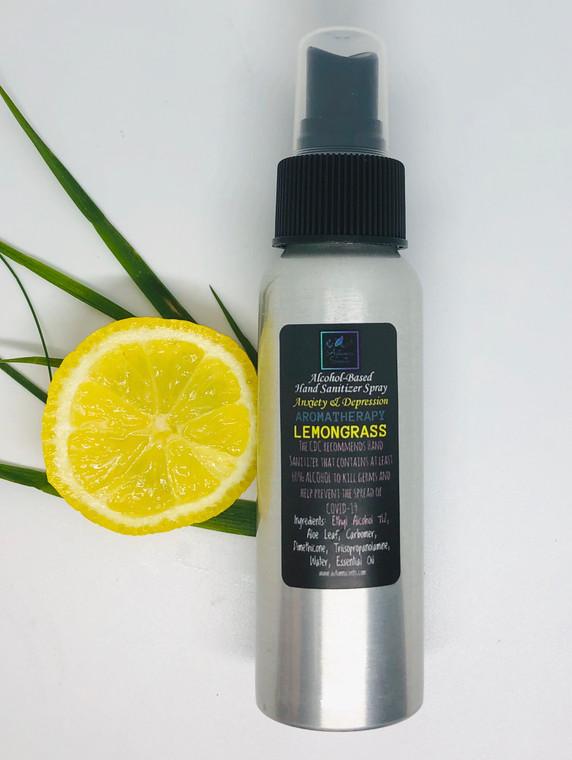 Aromatherapy Hand Sanitizer - Lemongrass