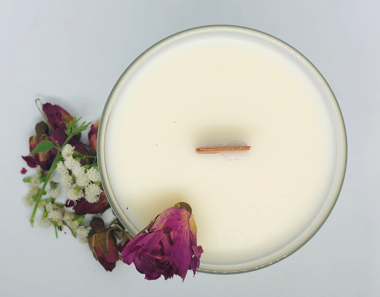 Wood Wick Candle - CannaBliss 7oz