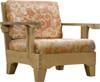 (5pc) S&H TEAK DEEP SEAT SET - I