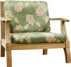 One of the best oversize teak club chair found anywhere.