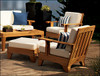 (4pc) MOREA TEAK CLUB CHAIR SET - out of stock