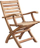 MONICA FOLDING ARM CHAIR - out of stock