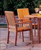 Teak Lacovia Stacking Chairs by WOOD-JOY