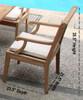 Teak Kodra Arm Chair