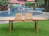 MONTCLAIR TEAK DINING SET - III