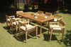 MONTCLAIR TEAK DINING SET - I