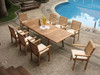 9pc teak dining set