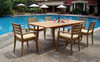 ASTON TEAK DINING SET (6-seat)