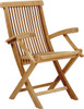 CALI FOLDING ARM CHAIR