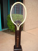 Z SPORTS ART - (RECONDITIONED) GIANT WOOD TENNIS RACQUET DECO - 5' Tall