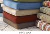 Welted/Piped Edge Cushions