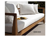 Outdoor Cushions with Boxed Edge