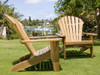 (5pc) DNI ADIRONDACK CHAIR SET - II SQUARE TABLE